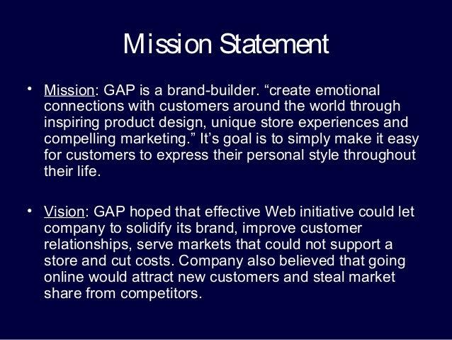 gap mission statement