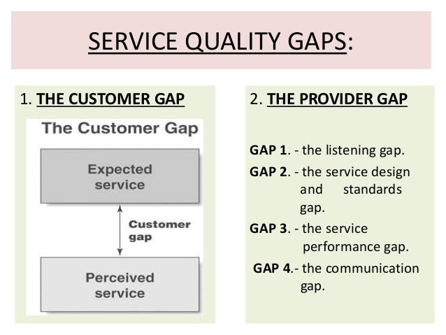 starbucks service gap There are many types of service that the customer service gap model describes this article and podcast describes the model and how to plan for it.