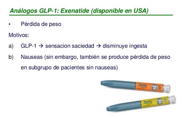 Inhibidores DPP-IV: eficacia - Sitagliptina (Januvia®) - Vildagliptina - Saxagliptina GLUCEMIA a) reducción HbA1c  0,8 % ...