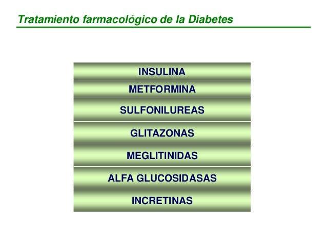 Hiperglucemia Absorción de HC Descenso captación muscular de la glucosa Aumento producción hepática de glucosa Secreción i...