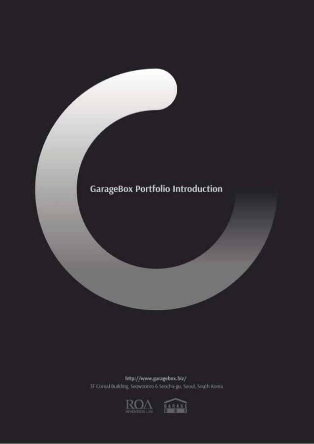GarageBox Portfolio Introduction  hnpz/ /wwwgarageboxbiz/  Xl ( nrnal Huililing M-i, ›ix'0oiiri; i i.  Heúrhiv gu.  Seoul ...