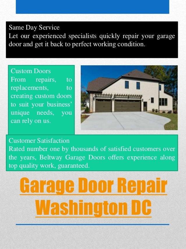 Garage Door Repair Washington DC ...