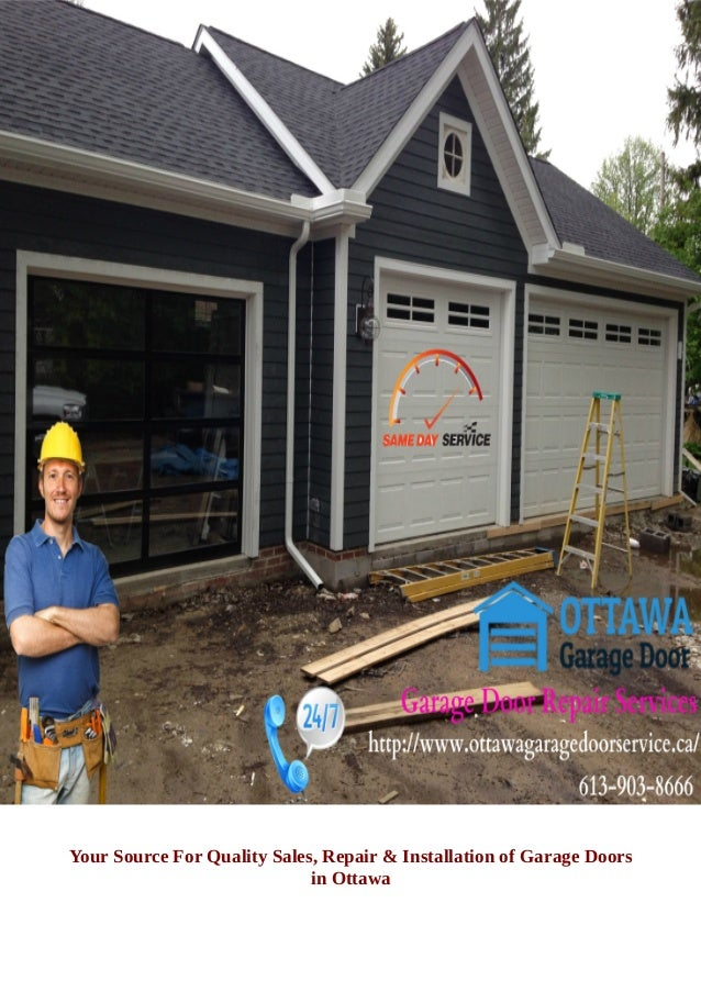 Garage Door Installation Maintenance And Repair Services In Ottawa