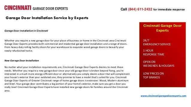 Garage Door Installation Service By Experts