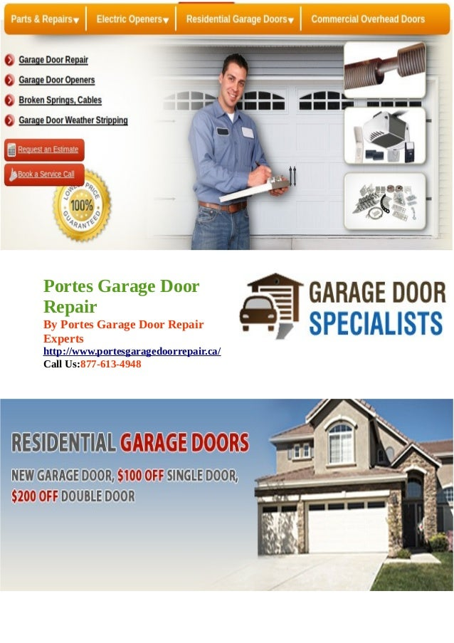 Garage Door Opener Remote Cable Spring Maintenance Installation