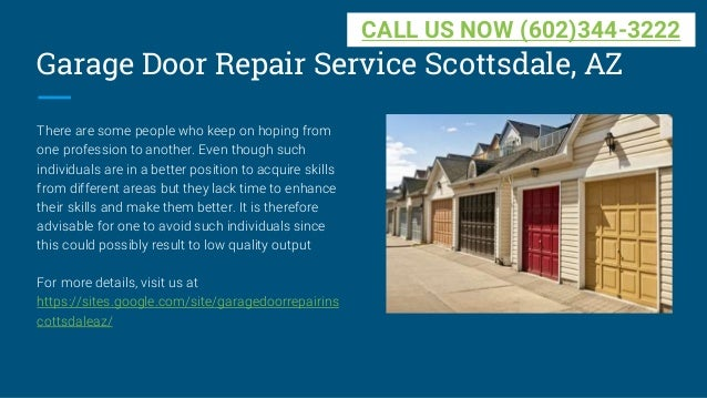 Charmant Garage Door Repair Service Scottsdale ...