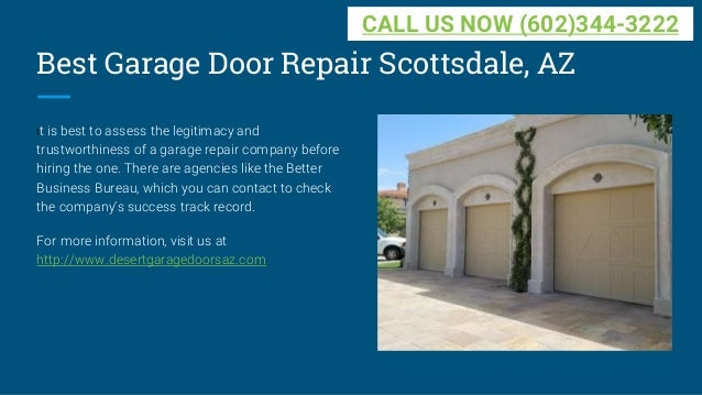 ... 5. Best Garage Door Repair Scottsdale ...