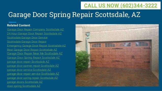 Garage Door Spring Repair Scottsdale ...