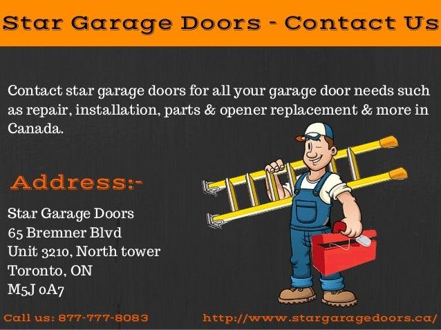 Garage Door Repair And Installation Services Star Garage