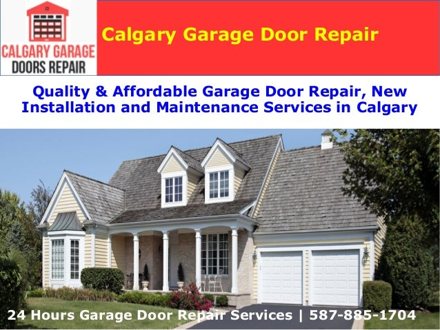 Garage door repair and new installation services calgary garage doo Exterior doors installation calgary