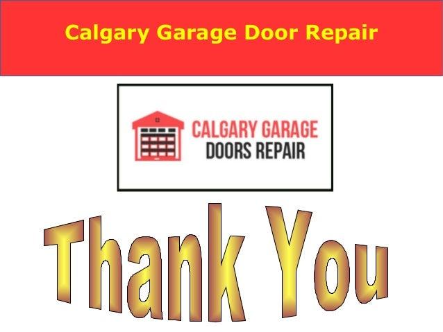Garage Door Repair And New Installation Services Calgary