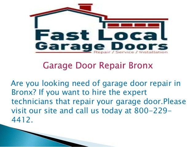 Garage door repair bronx for Aaron garage door repair