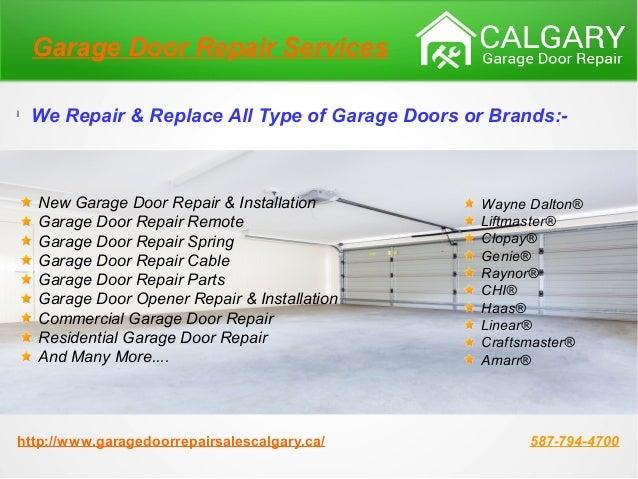Garage door repair calgary garage door installation for Garage door repair oak lawn il