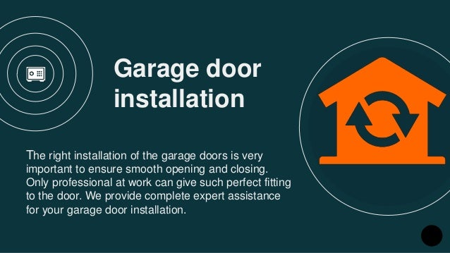 Merveilleux Garage Door Installation ...