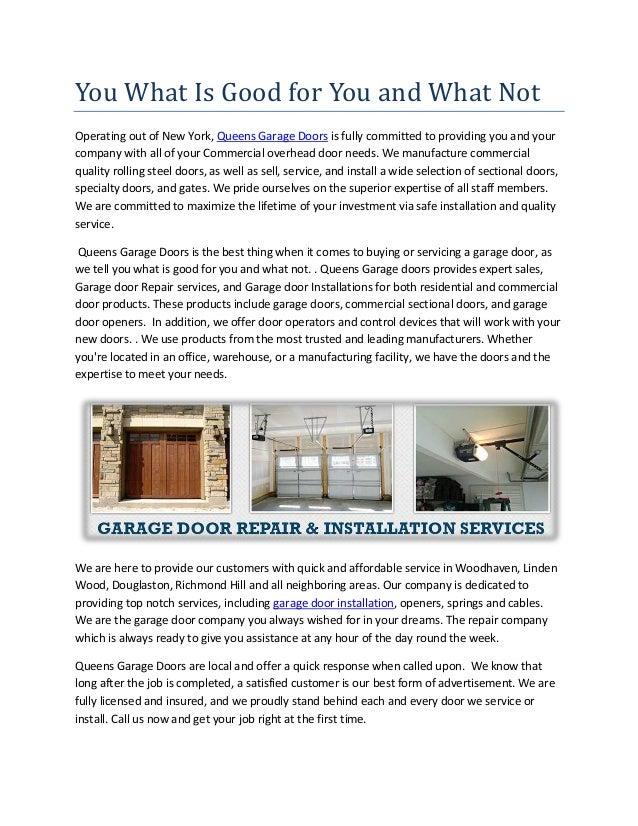 Garage Door Services In Queens