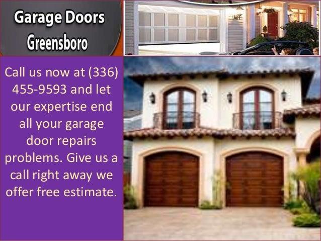 Garage Door Repairs Free Estimate For Garage Door Repairs