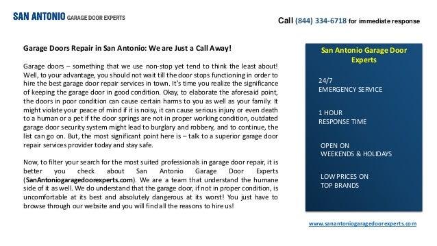 Garage Doors Repair In San Antonio We Are Just A Call Away