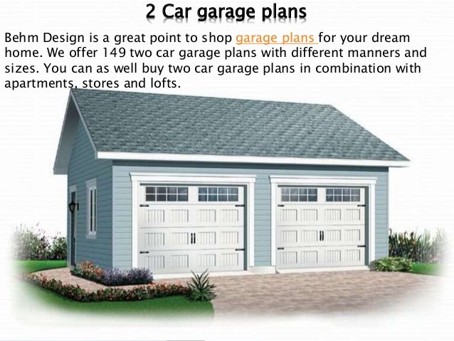 Outstanding garage plans are available here for How big is a standard two car garage