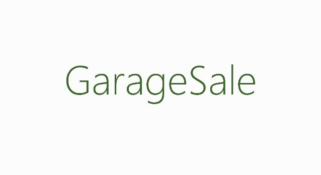 команда   Garage sale