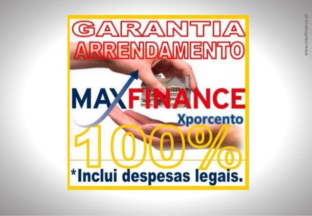 GARANTIA DE ARRENDAMENTONÃO PAGO & DESPESAS LEGAISMAXFINANCE Xporcento 2012