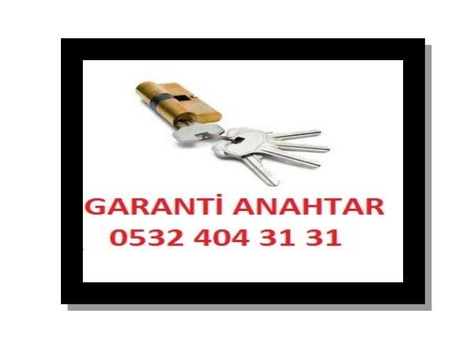 GARANTİ KİLİT