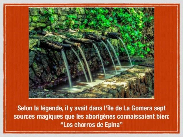 Legende Gara, princesse de l'eau et Jonay, prince du feu Slide 3
