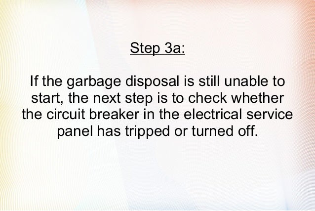 Garbage Disposal Not Working: Easy Steps To Solve Your Problem