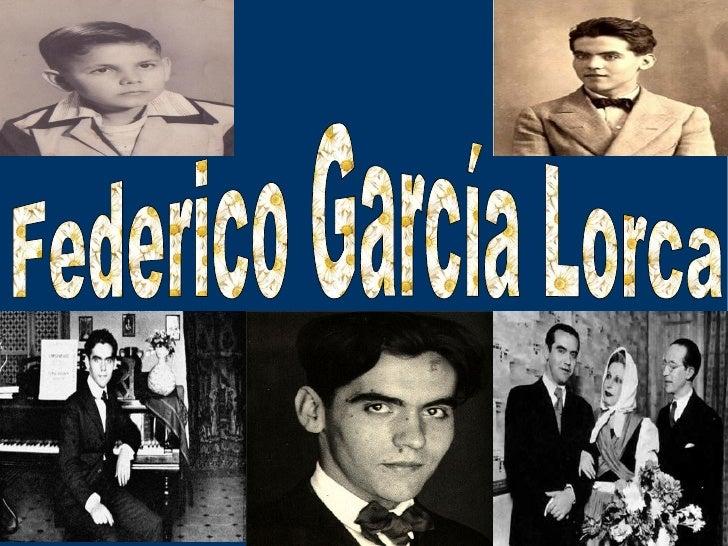 Su vidaFederico García Lorca nació en Fuente Vaqueros (Granada) el 5 de junio de 1898. Fue bautizado con el nombre de Fede...