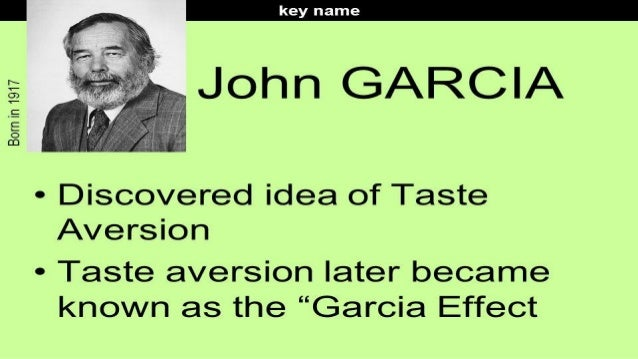 garcia?s research with sheep and wolves