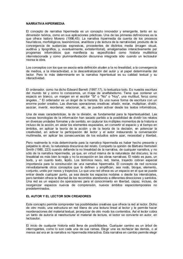 Garcia Garcia Narrativahipermedia
