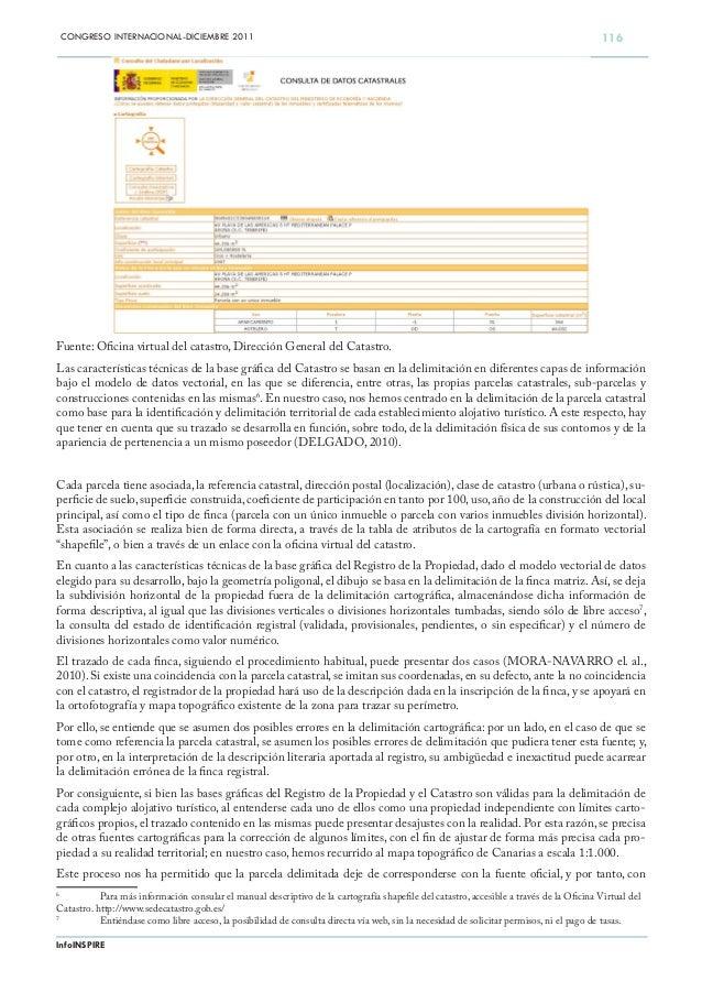 Registro de la propiedad y sig estudio 2011 for Oficina virtual del catastro murcia