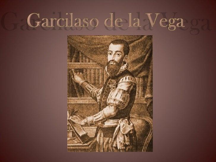Garcilaso de la Vega Slide 1