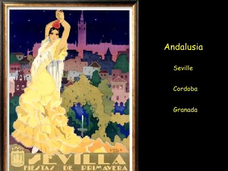 Andalusia Seville Cordoba Granada