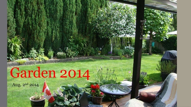 Garden 2014 Aug. 2nd 2014
