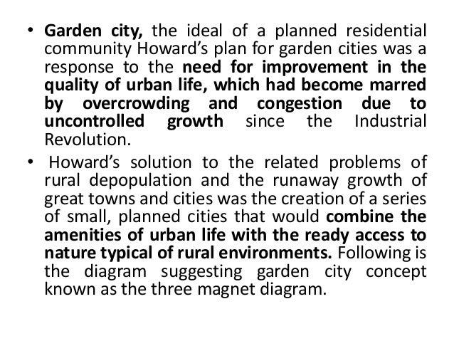 Garden city theory by vaibhav patel