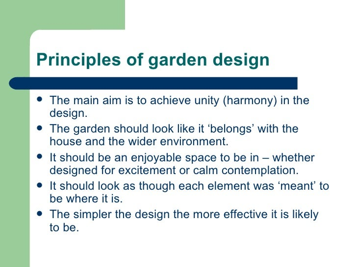 Garden design session 3 presentation