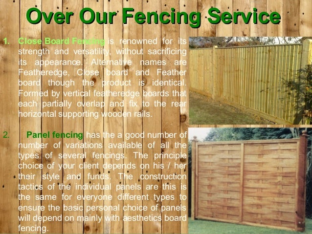 garden fencing north london make gardening fast and effortless