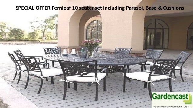 10 Seater Garden Furniture View our garden swing benches and cast aluminium garden furniture wit 3 special offer fernleaf 10 seater workwithnaturefo