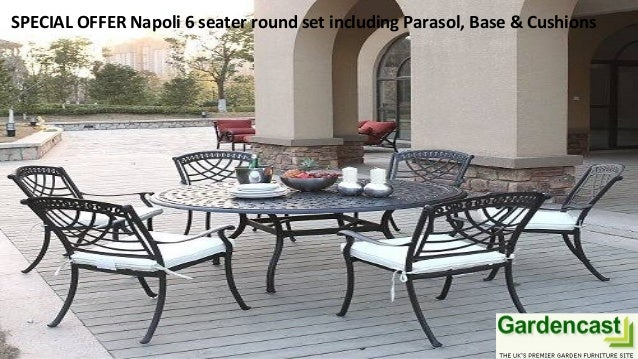 ... Cushions; 4. SPECIAL OFFER Napoli 6 Seater Round ...