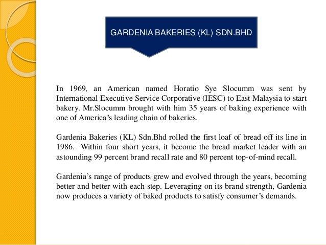 Marketing Plan for Gardenia
