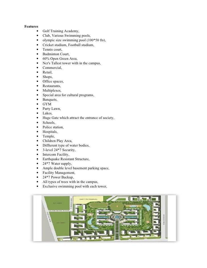 Gardenia Golf City Noida-9911331116 Slide 2