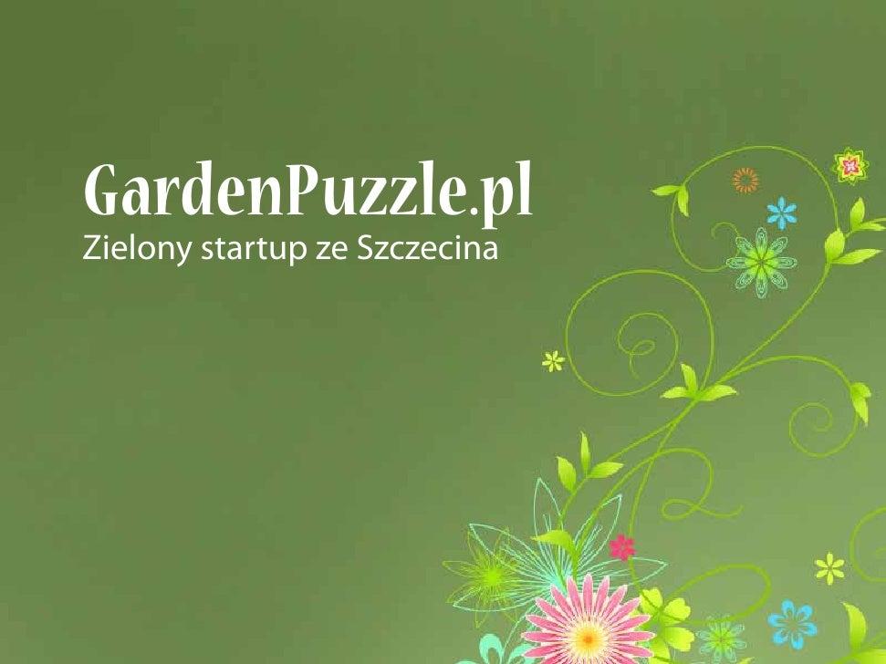 GardenPuzzle.pl Zielony startup ze Szczecina