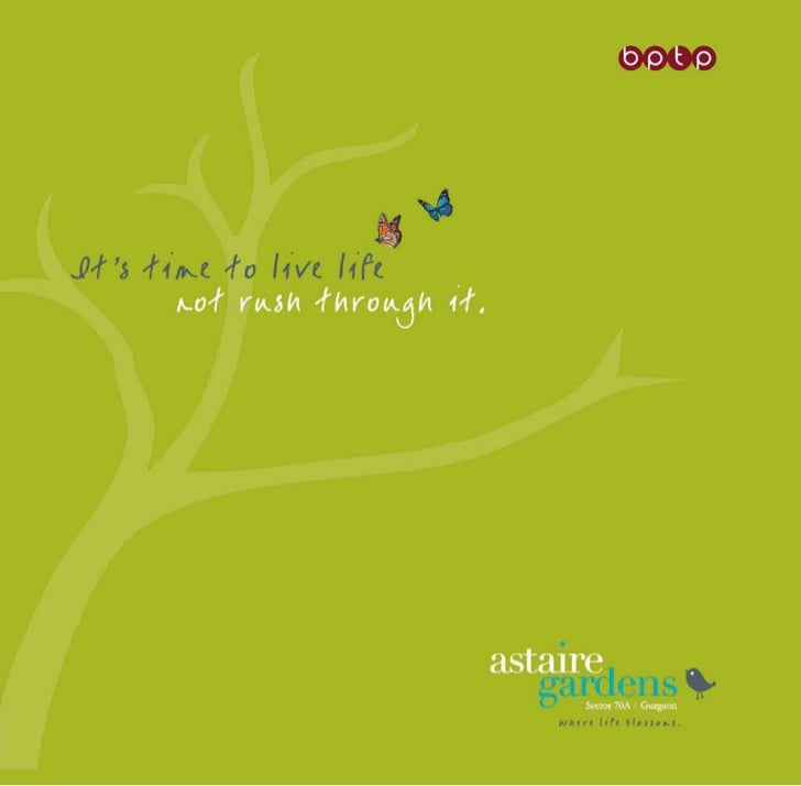 Astaire Gardens | BPTP Floors Gurgaon | New Project Sector 70A : 7838111999