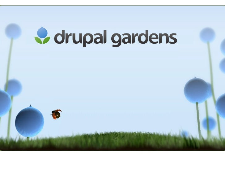 Drupal Gardens for Publishers