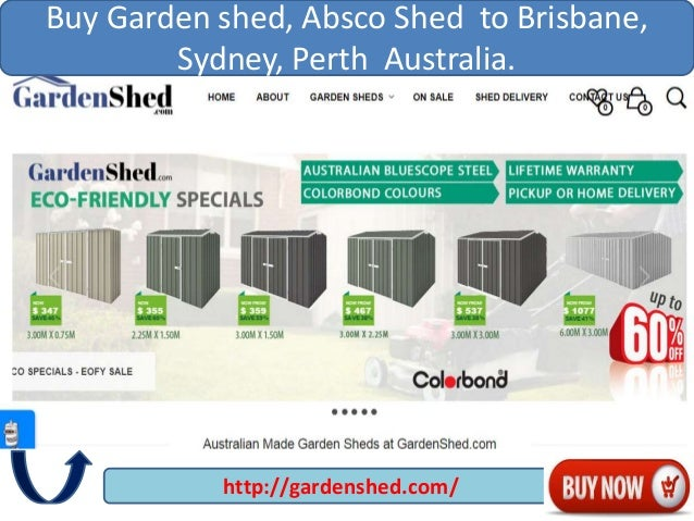 Great Garden Sheds Vic