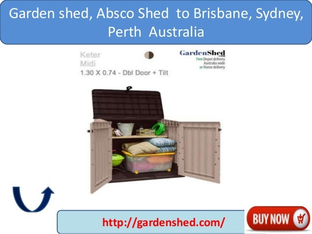 designs garden sheds vic