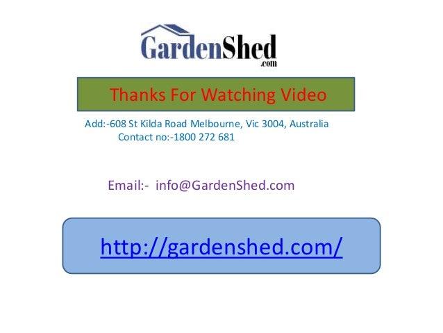 Garden Sheds Vic