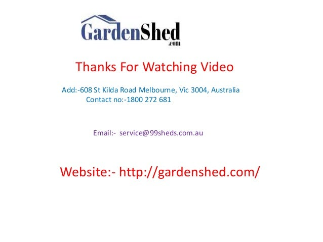 australian made garden sheds online at gardenshedcom