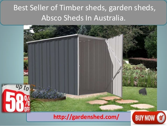 4 best seller of timber sheds garden - Garden Sheds Vic