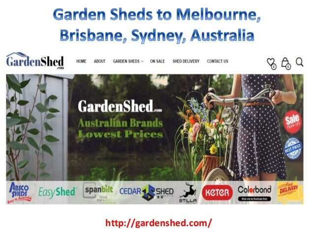 picture garden sheds vic